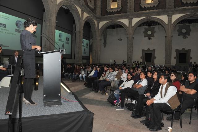 Ciclo de charlas MIDE, Museo Interactivo de Ecnomía. Conacyt, Ciencia, tecnología e innnovación